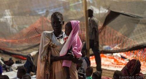 Южный Судан голод