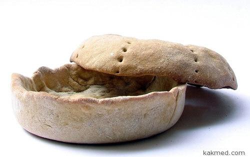 Посуда из хлеба