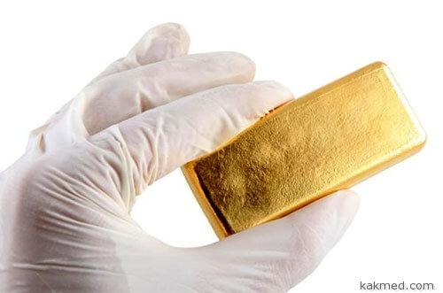 Золото из желудка