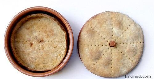 Комплект для выпекания хлебной посуды
