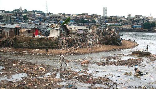 Трущобы - рассадник холеры