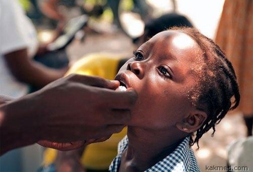 Вакцинация против холеры в Африке и Гаити