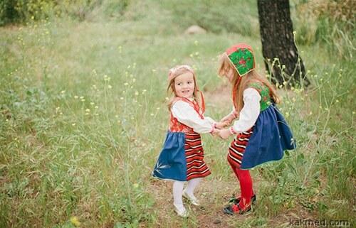 Скандинавское детство