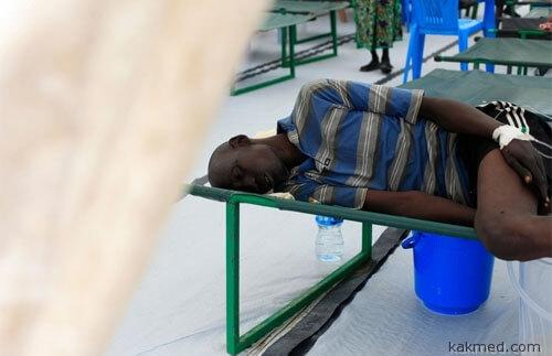 Холера в Южном Судане