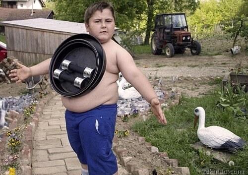 Еще один толстый мальчик