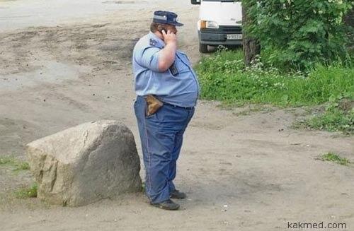 Толстый, как мент