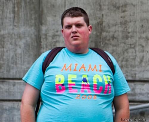 Толстый подросток. Кто виноват?