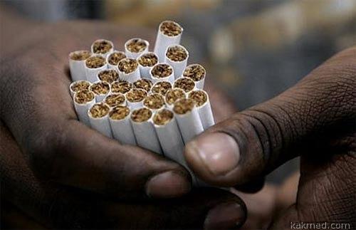 Черный рынок сигарет