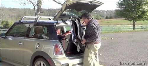 Самая легкая инвалидная коляска