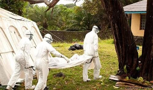 Работники по Эбола в Африке