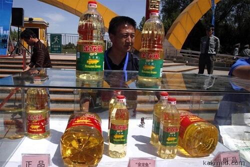 Помойное масло из Китая