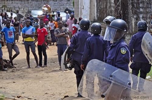 Карантин в Либерии