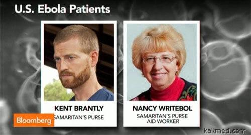 Американцы с Эбола