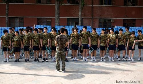 Лагерь для геймеров в Китае