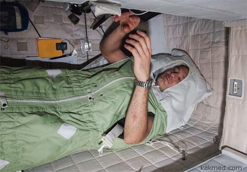 Сон на орбите
