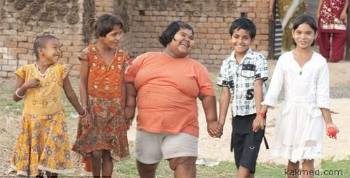 Суман Хатун 90 кг в 9 лет
