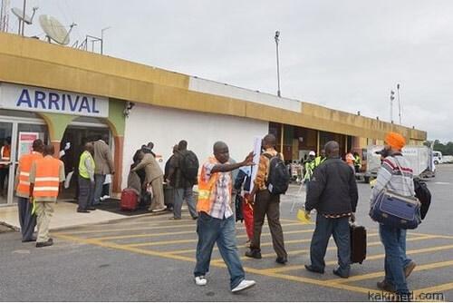 Границы в Африке закрыты