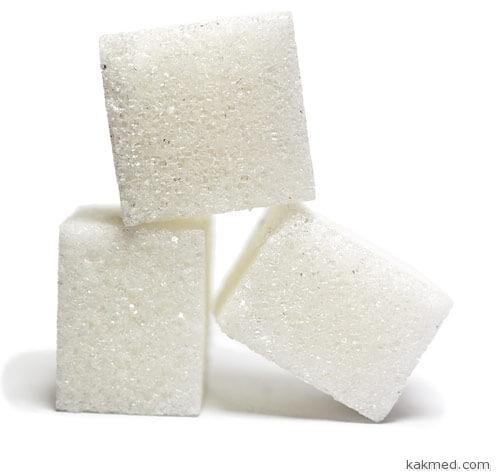 Норма сахара - 14 г в день