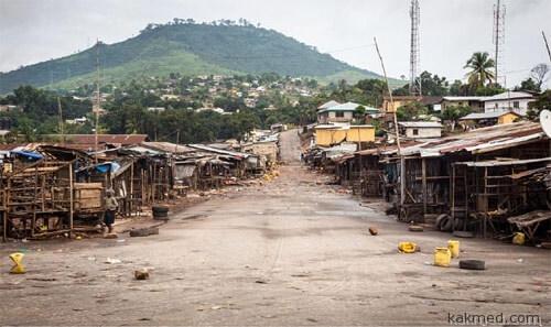 Сьерра-Леоне карантин