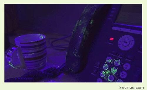 Микробы на факс-аппарате