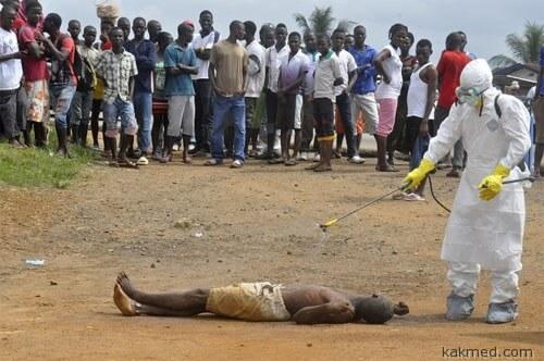 Жертва лихорадки Эбола