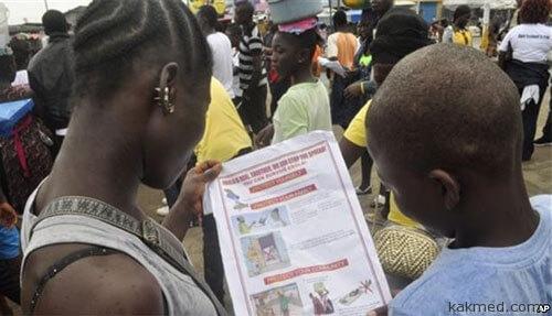 Африканцы узнают о вирусе