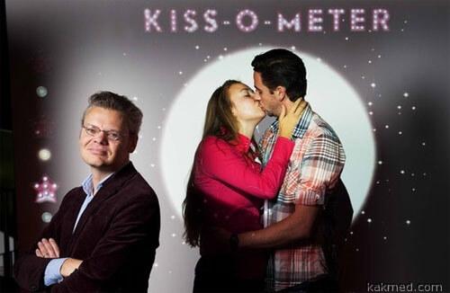 Амстердамский Kiss-o-meter
