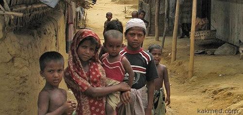 Дети из бедных семей