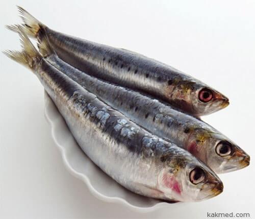 Жирная рыба от болей в шее