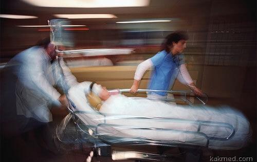 В операционную быстро