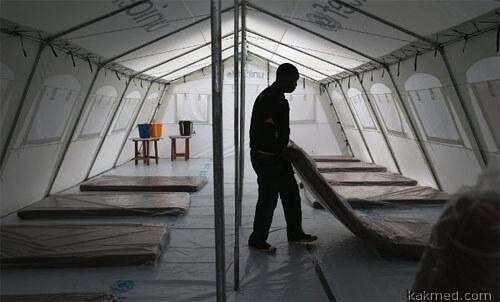 Эбола карантин