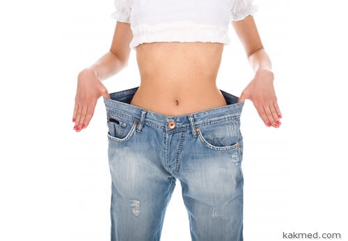Похудеть на два размера