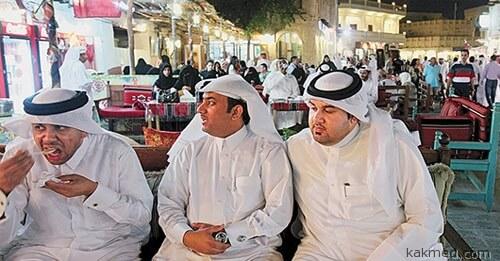 Ожирение в Кувейте