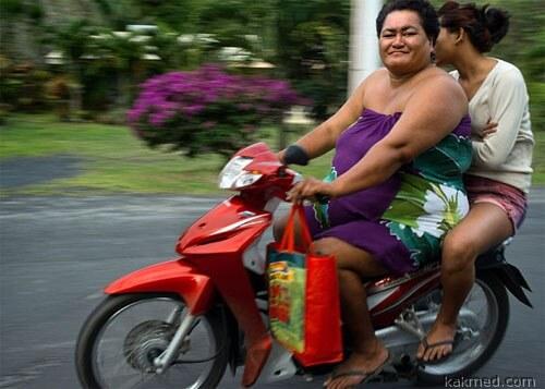 Ожирение в Океании