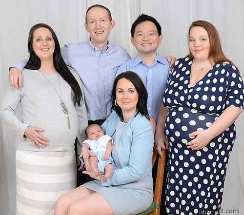 Современная английская семья