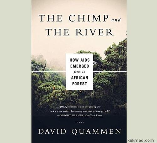 Шимпанзе и Река