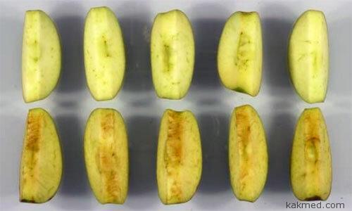 Яблоки которые не темнеют