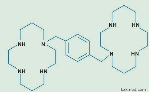 Плериксафор формула