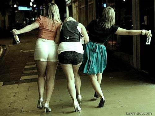 Пьяные леди Запада