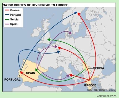 Откуда в Европе СПИД