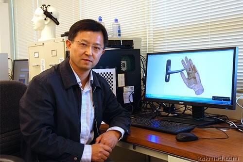 Роботизированная перчатка для слепых