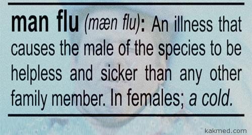мужской грипп