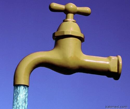 живая водопроводная вода