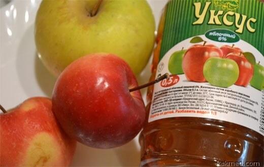 яблочный уксус пищеварение