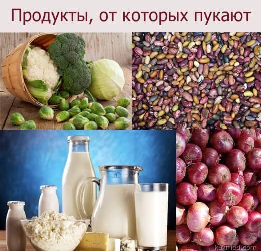 продукты от которых пукают