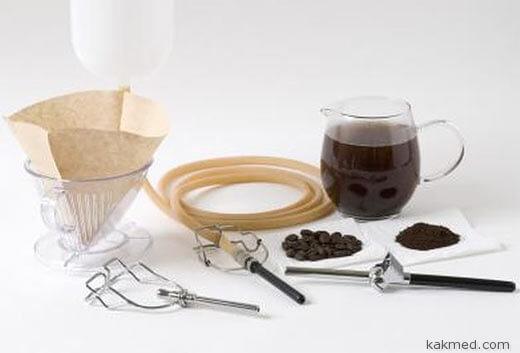 клизма с кофе инструменты