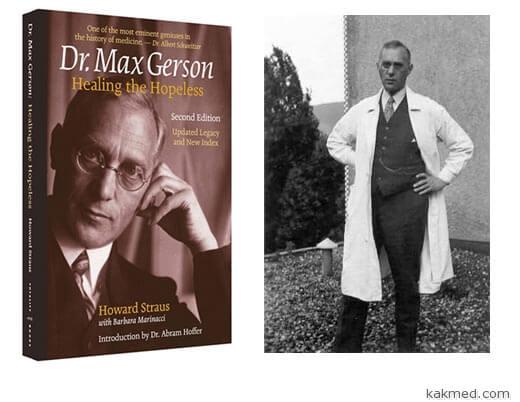 доктор макс герсон