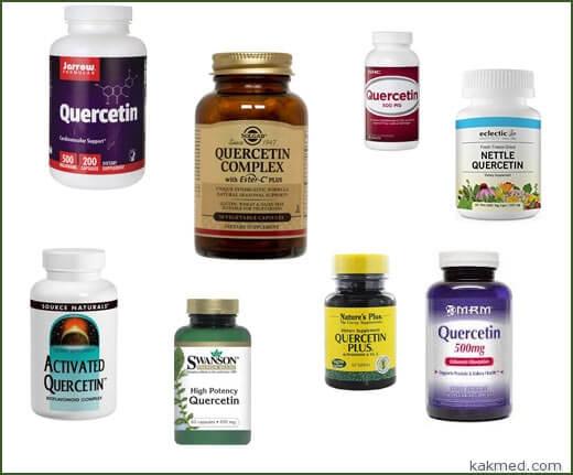 БАД кверцетин защита от рака