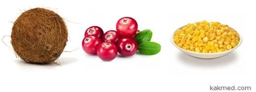 источники токотриенолов фрукты и овощи