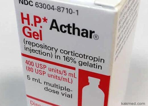 препарат Acthar Gel